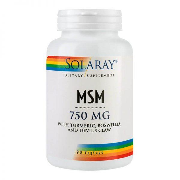 MSM 750 mg – 90 capsule
