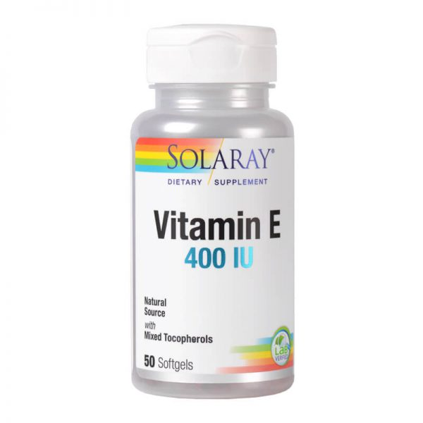 Supliment Alimentar - Vitamina E 400UI - 50 Capsule